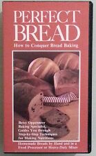 PERFECT BREAD how to conquer bread baking  VHS VIDEOTAPE