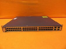 Cisco Systems Catalyst 3750 Series PoE-48 Switch WS-C3750-48PS-E V08