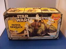 Dewback Complete Unbroken Reins MIB Insert 1977 Vintage Star Wars New Contents