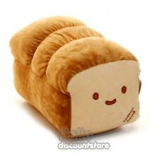 Cotton food unslice of Bread Pillow Cushion Doll Plush : Large