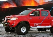 2 Sticker Decal for Toyota Hilux door pick up D4D mk3 SSRX vigo kit EX TD VX HL2