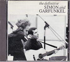 CD 20T THE DEFINITIVE SIMON AND GARFUNKEL BEST OF 1991 TBE