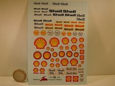 "DECALS 1/24  PETROLIER "" SHELL "" - VIRAGES T64"