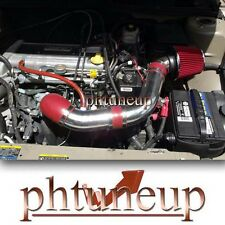 2002 2003 2004 2005 PONTIAC SUNFIRE 2.2 2.2L AIR INTAKE KIT (ECOTEC ONLY) RED
