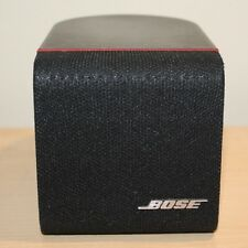 One (1) pc. Bose Lifestyle Acoustimass Single Cube Surround Sound Speaker Black