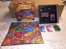 Mattel 2000 Harry Potter & The Sorcerer's Stone Trivia Board Game 100% Complete