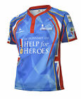 Help for Heroes 65 Degrees North Rugby Shirt (S-XXXXL) Army / Navy / RAF (Blue)