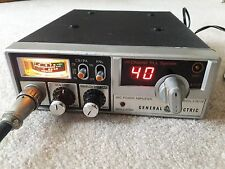 General Electric 40 Channel 3-5813B Mobile CB Radio & Microphone.