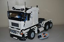NEW LEGO TECHNIC WHITE 8258 V10 CUSTOM TRUCK w/ Power Functions 8882/8883/8884