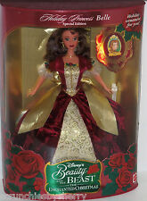 Disney Holiday Princess Belle Doll Holiday 1997 Mattel Enchanted Christmas VTG