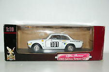 ROAD SIGNATURE ALFA ROMEO GIULIA SPRINT GTA RALLY MINT BOXED RARE SELTEN RARO!