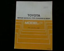 Toyota Tarago F Series, Body Chassis, gearbox diff, Workshop Service Manual book