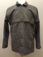 CC Filson Gray Virgin Wool MACKINAW Hunting Shirt Jacket Size M