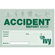 Accident Report Book Injury Record book Hse Health And Safety