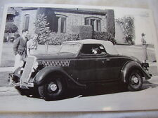 1935 FORD CABRIOLET 12 X 18  LARGE PICTURE  PHOTO