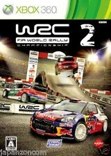 Used Xbox 360 WRC 2: FIA World Rally MICROSOFT JAPAN JAPANESE JAPONAIS IMPORT