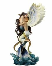 "13.5"" Impossible Love By Selina Fenech Statue Sculpture Mermaid Angel Ocean"