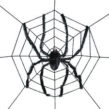 Sunstar Industries Giant Spider with Spderweb Halloween Decoration Prop
