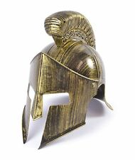 ANCIENT SPARTAN WARRIOR GLADIATOR #FULL HELMET 300 STYLE FANCY DRESS ACCESSORY