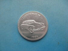 1956 citroends ds19 VETTURA STORICA vetture SHELL COIN TOKEN