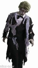 "Walking Dead Zombie Apocalypse Formal Men's Costume fits up to 42"" chest"