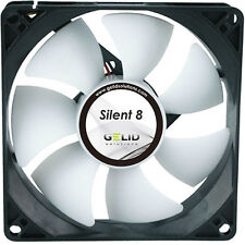 GELID Solutions Silent 8 80mm Case Fan 1600 Rpm, 20.7 CFM, 18.0 DBA (FN-SX08-16)
