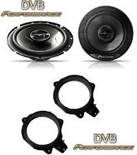 Peugeot 207 2006-2012 Pioneer 17cm Rear Door Speaker Upgrade Kit 240W