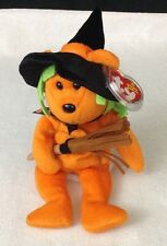 NEW Ty Beanie Baby Spells - MWMT (Bear Internet Exclusive 2006) Halloween