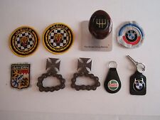 LOT OF AUTOMOBILIA - BMW PATCHES KEYRING, STICK, WEST COAST CHOPPERS - BB-2