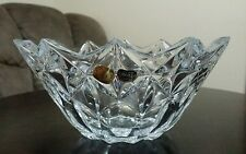 Bohemia Crystal Large Fruit Vase made in Czech Republic