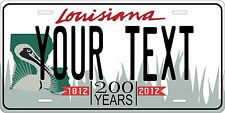 Louisiana 2011 license plate Tag Personalized Auto Car Custom VEHICLE OR MOPED