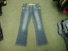 "George Bootcut Jeans Size 12 Leg 30"" Faded Dark Blue Ladies Jeans"