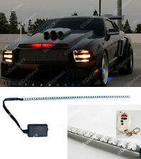 Rojo 48 Led Impermeable Knight Rider Con Luz Led Scanner-Estroboscópica Flash Kit