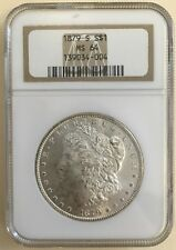 1879 S Morgan Silver Dollar $1 Certified Ms 64 Ngc