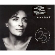 MARY BLACK - 25 YEARS, 25 SONGS: THE BEST OF 2CD ALBUM (2008)