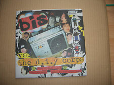 "BIS VS. THE D.I.Y CORPS - THIS IS FAKE D.I.Y - 7"" P/S SINGLE WITH INSERT - INDIE"
