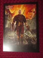 RARE ART PRINT EX LIBRIS POSTER THE WITCHER 2 ASSASSINS OF KINGS ENHANCED ED° N2