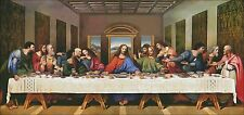 Needlework Crafts Full Embroidery Counted Cross Stitch Kits The Last Supper M