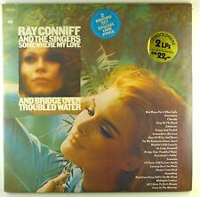 "12"" LP ray Conniff and the Bono-somewhere/Bridge over-a4592-rar"