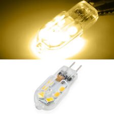 10 X G4 Lampe 3W 2835SMD 12LED Ampoule 280LM Dimmable AC/DC 12V Blanc Chaud PC