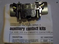 GE General Electric  CR205X100D Auxiliary Contact Kit NEW
