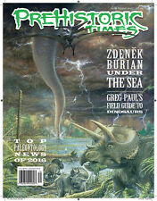 NEW #120 Latest Issue Prehistoric Times dinosaur magazine PT Winter 2017!!