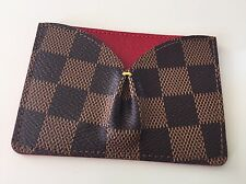 Louis Vuitton Caissa Damier Ebene Card Holder, mai usato