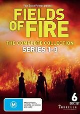Fields Of Fire THE COMPLETE COLLECTION : Series 1-3 (DVD, 2015, 6-Disc Set)