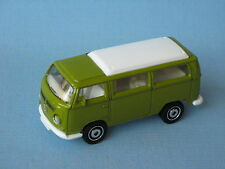 Matchbox Volkswagon VW Camper Van Green Bay T2 Classic Retro Toy Model 72mm