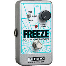 Electro-Harmonix Freeze Sound Retainer Compression Sustain Guitar Effects Pedal