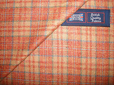 100%SILK CLASSIC CHECK WITH FANCY PLAID(3 x 2.5 cm)JACKETING/CASUAL SUITING-2.0m