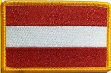 AUSTRIA Flag Patch With VELCRO® Brand Fastener Military Emblem