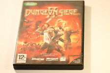 DUNGEON SIEGE SEIGE II 2 PC GAME BY EA GAMES 2005