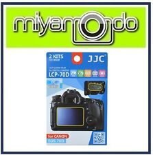JJC LCP-70D Screen Protector for Canon 70D (2pc Pack)